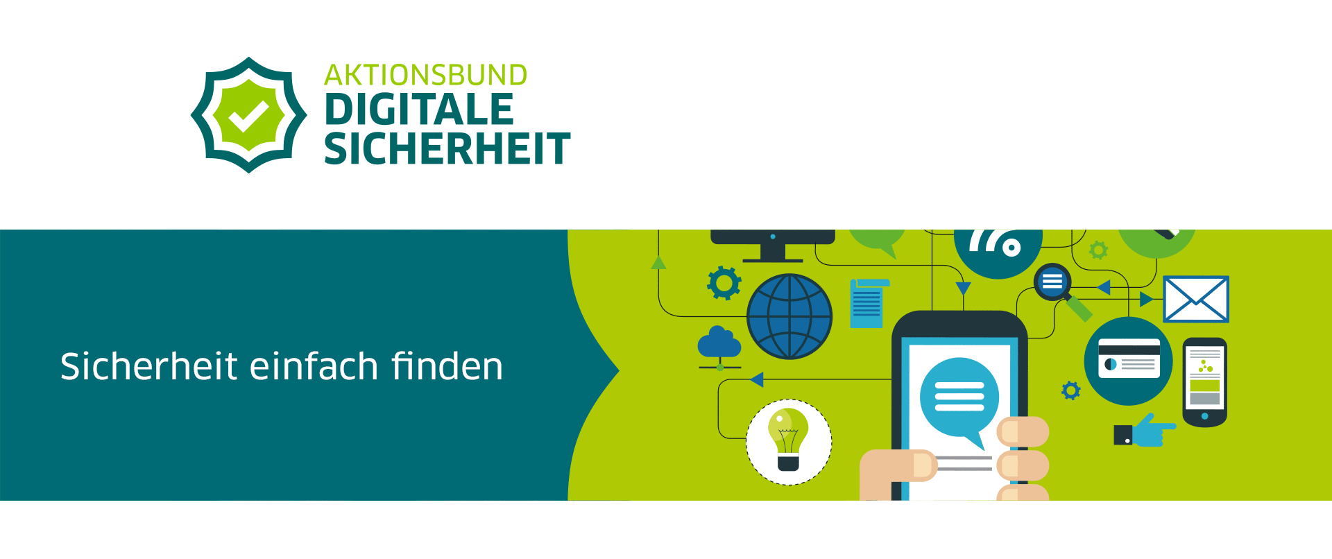 DsiN Aktionsbund Digitale Sicherheit Website