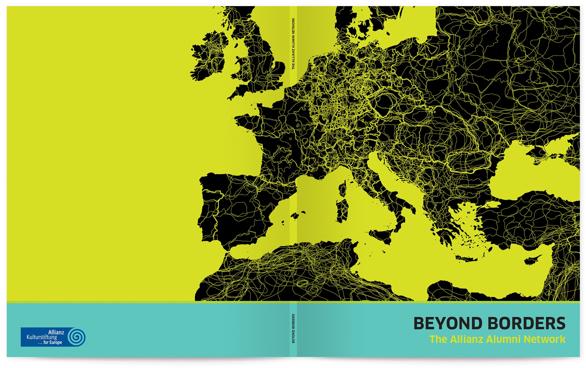 Beyond Borders – Magazin der Allianz Kulturstiftung, Titel